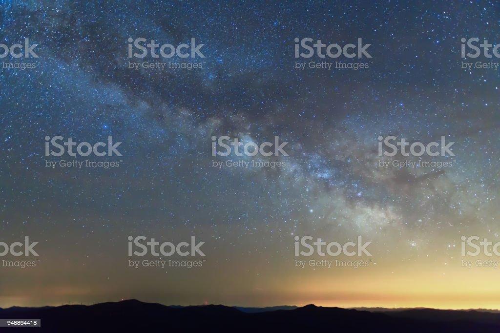Milchstraße Hintergrund – Foto