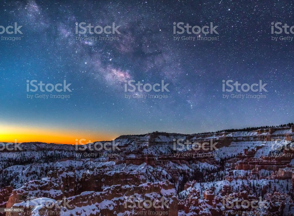 Milky Way Bryce Canyon – Foto