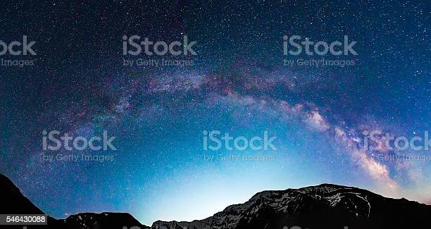 Milky way galaxy over mountains picture id546430088?b=1&k=6&m=546430088&s=612x612&h=j ctvtyutlivwhuidsdet cs bry5tip7uw33lsrw6o=