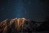 Milky Way Galaxy over the Colorado Rockies