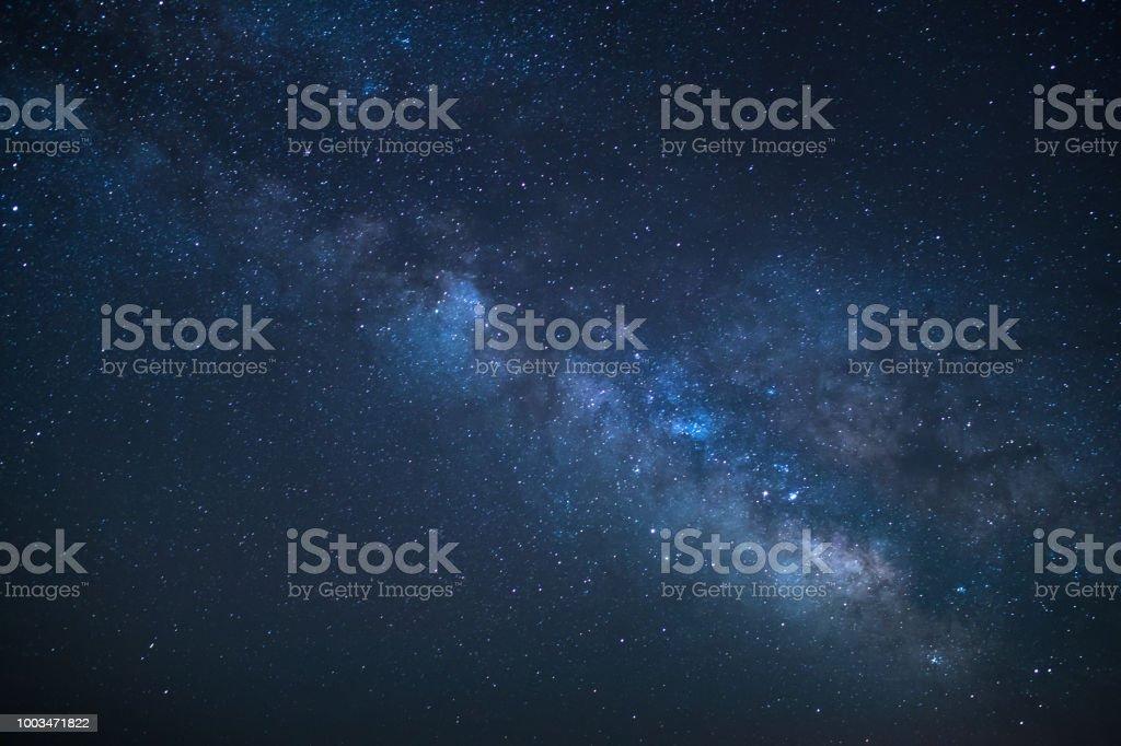 Milky Way galaxy stock photo