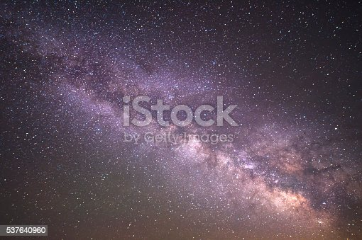 istock Milky Way Galaxy Texture background 537640960