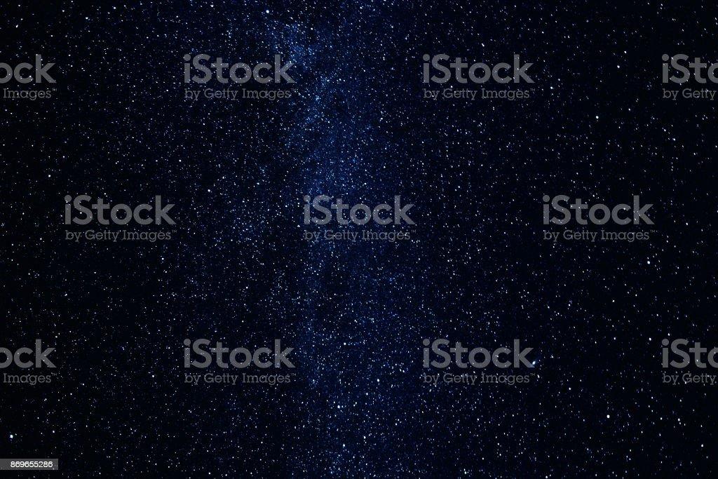 eeb1ad4cd Photo libre de droit de Voie Lactée Avec Brillante Des Étoiles Et ...