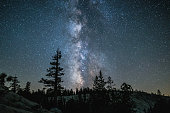 One of Yosemite's strongest qualities, one of the darkest skies in the US.