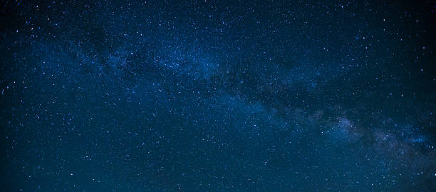 Milky Way Night Sky Milky Way Night Sky star space stock pictures, royalty-free photos & images