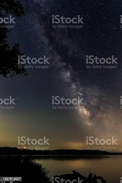 Photo of Milky Way Over Lake