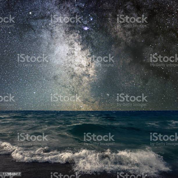 Photo of Milky Way Over The Sea
