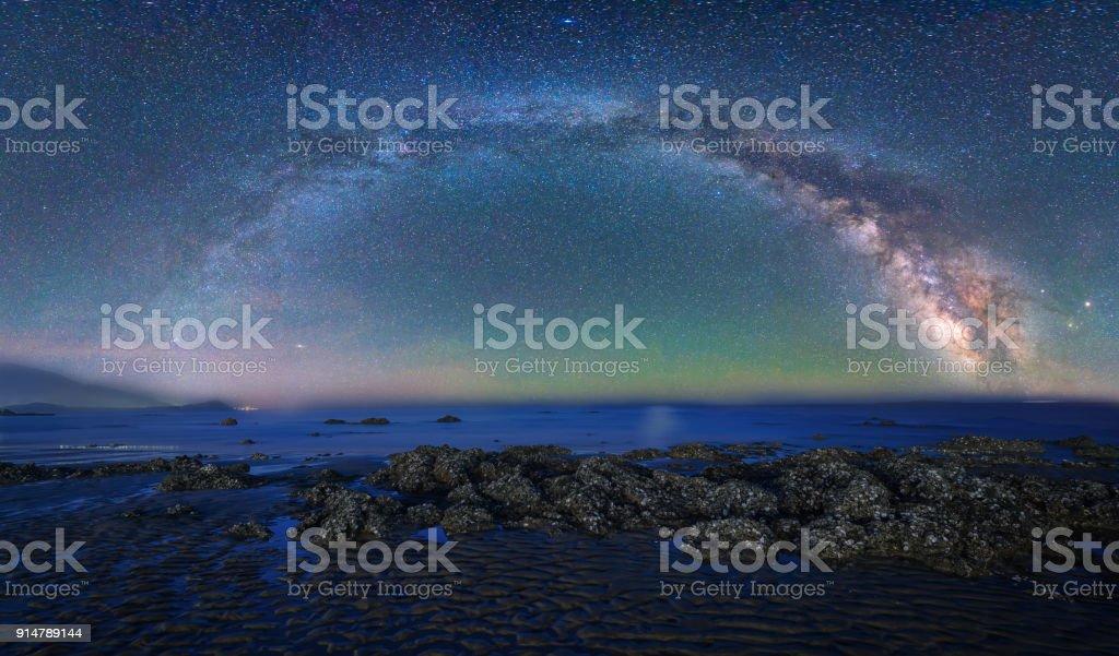 Milchstraße über die wunderbaren – Foto