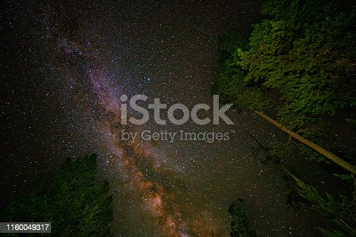 Milky Way as viewed in the mountains of Idaho