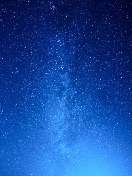 milchstraße - schönen abend bilder stock-fotos und bilder