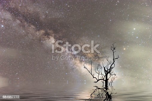 809971888istockphoto milky Way Thailand ,milky way galaxy . 684957772