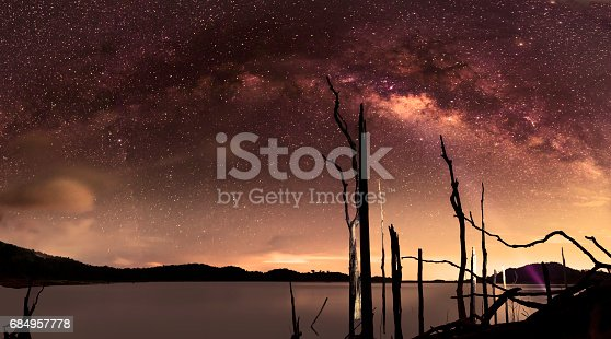 809971888istockphoto milky Way Thailand ,milky way galaxy . 684957778