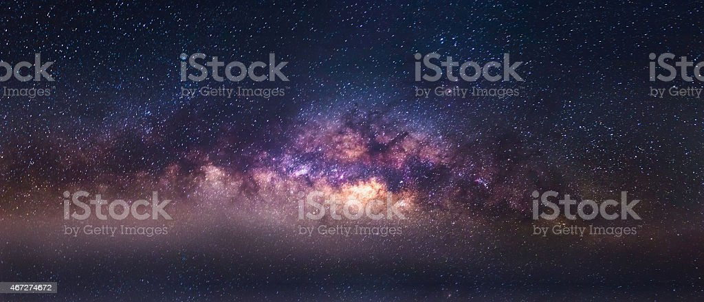 milky way thailand stock photo