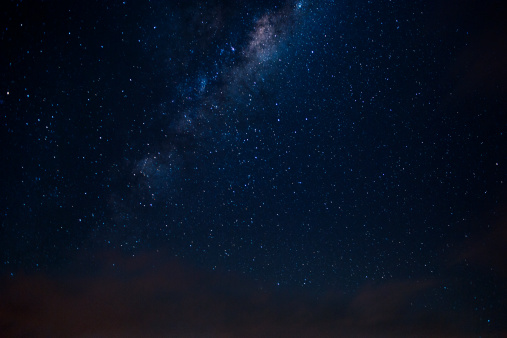 Milky way seen from the Southern Skies