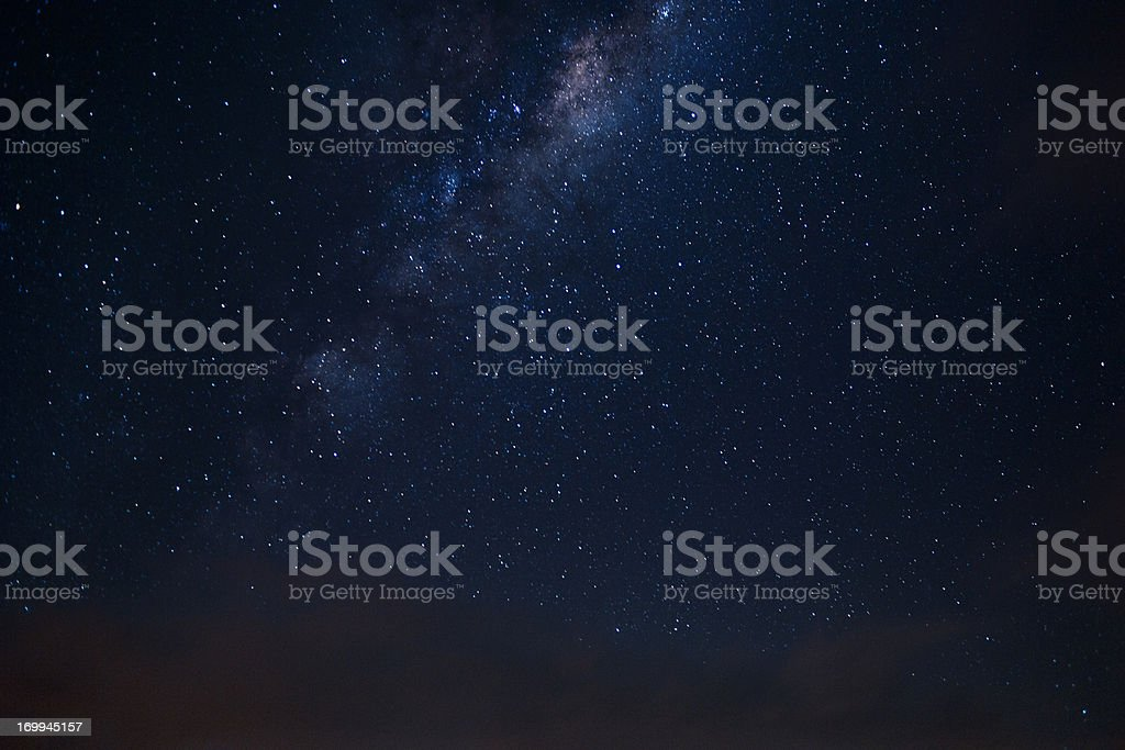 Milkyway seen from the Southern Skies stock photo