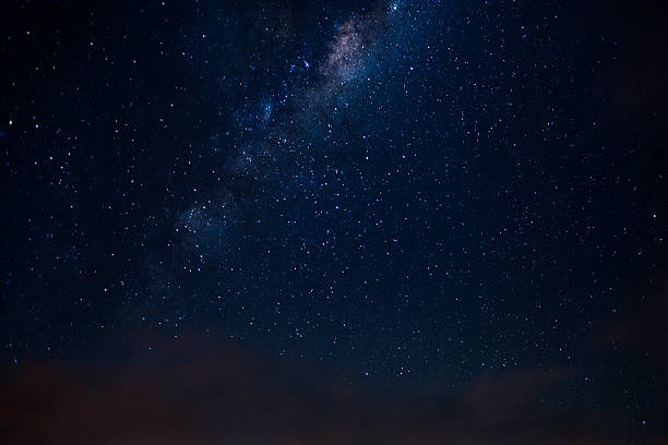milkyway seen from the southern skies - star space stock pictures, royalty-free photos & images