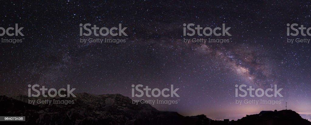 Milkyway, Triund, Himachal - Royalty-free Adventure Stock Photo