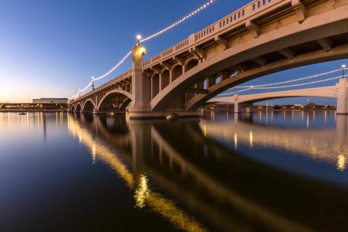 Mill Avenue Bridge in Phoenix, Arizona USA