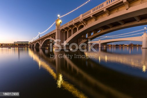 Mill Avenue Bridge in Phoenix, Arizona USA