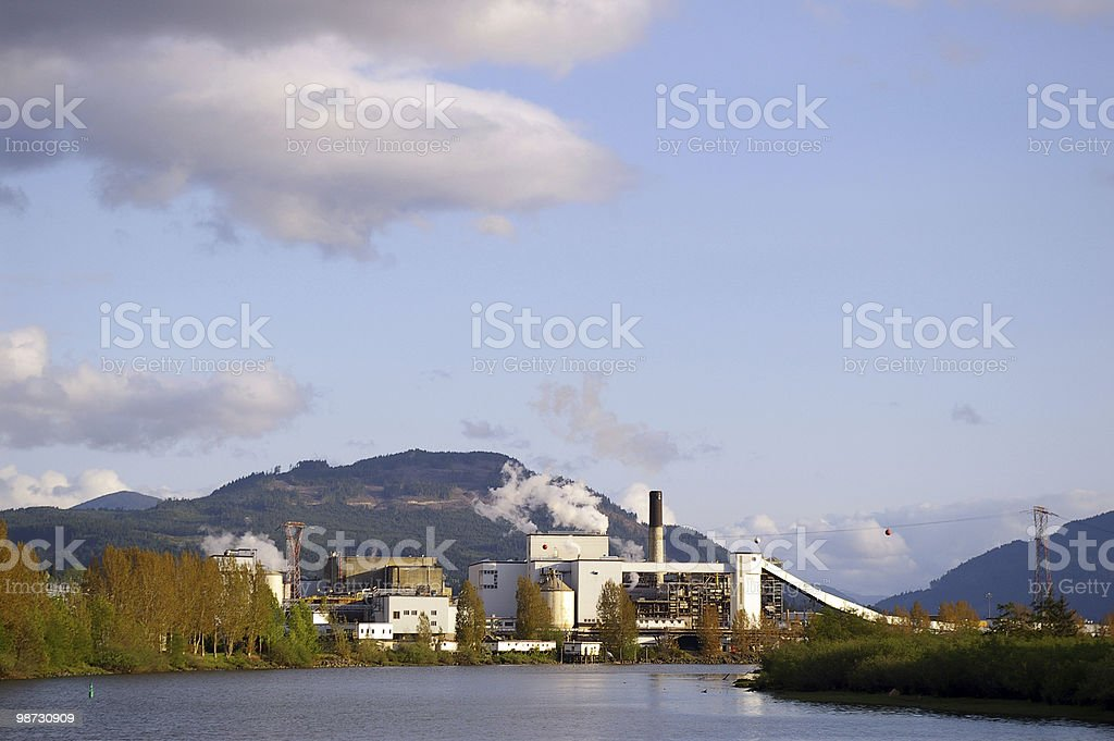 Mill Industry royalty-free stock photo