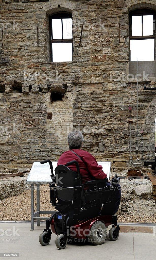 Mill Ruins Park royalty-free stock photo
