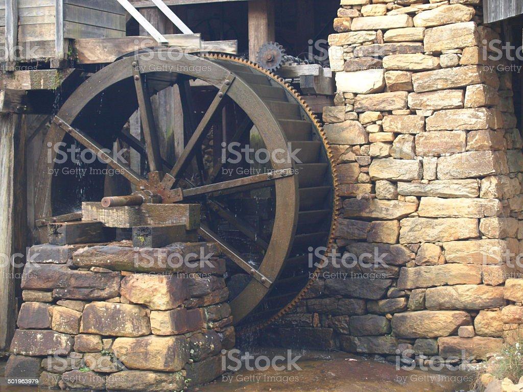 Mill Water Wheel 2 stock photo