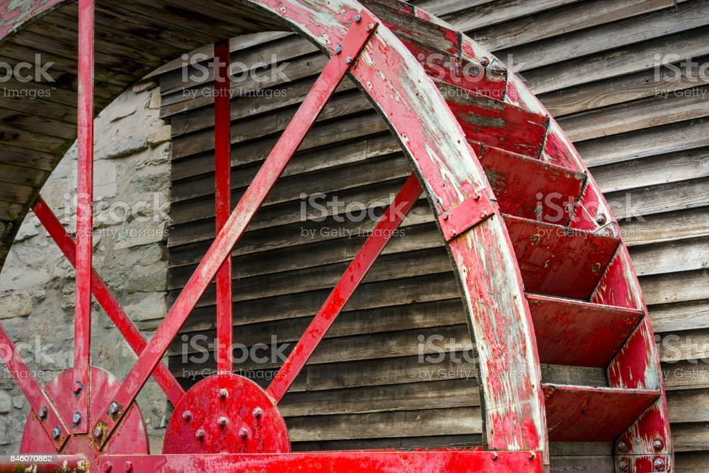 Mill Wheel 2 stock photo