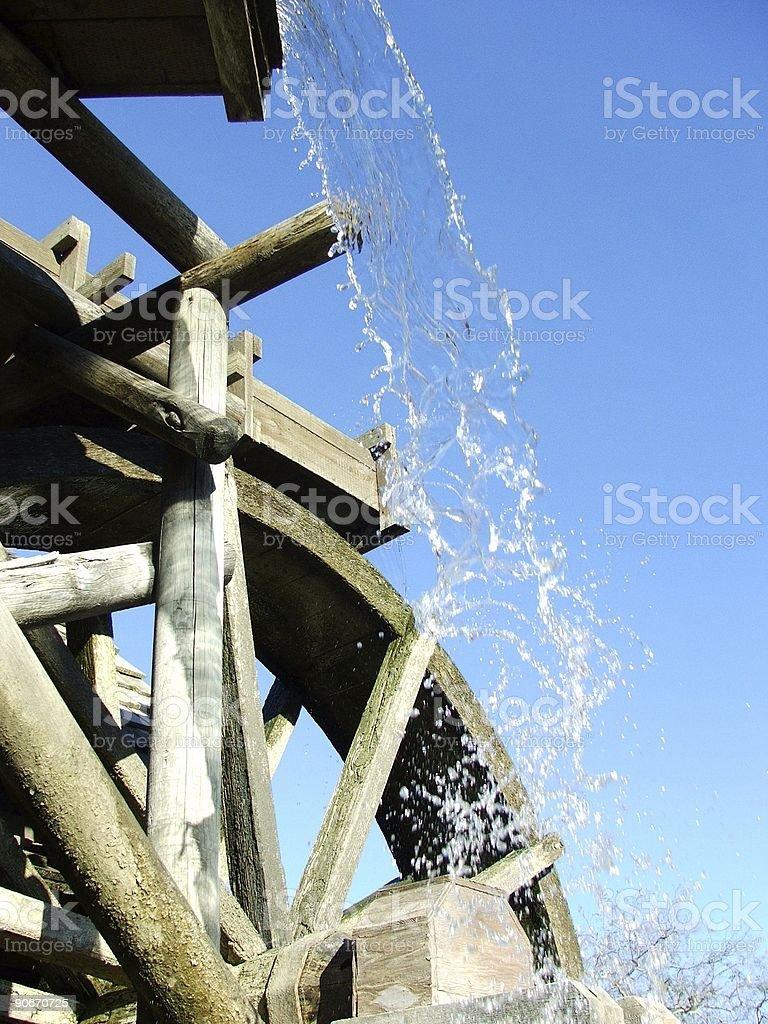 Mill Wheel stock photo