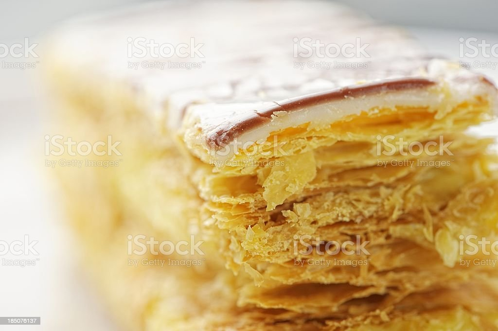 Mille Feuille French Pastry royalty-free stock photo