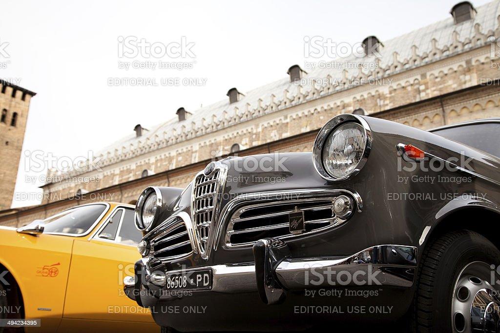 Mille Miglia Race stock photo