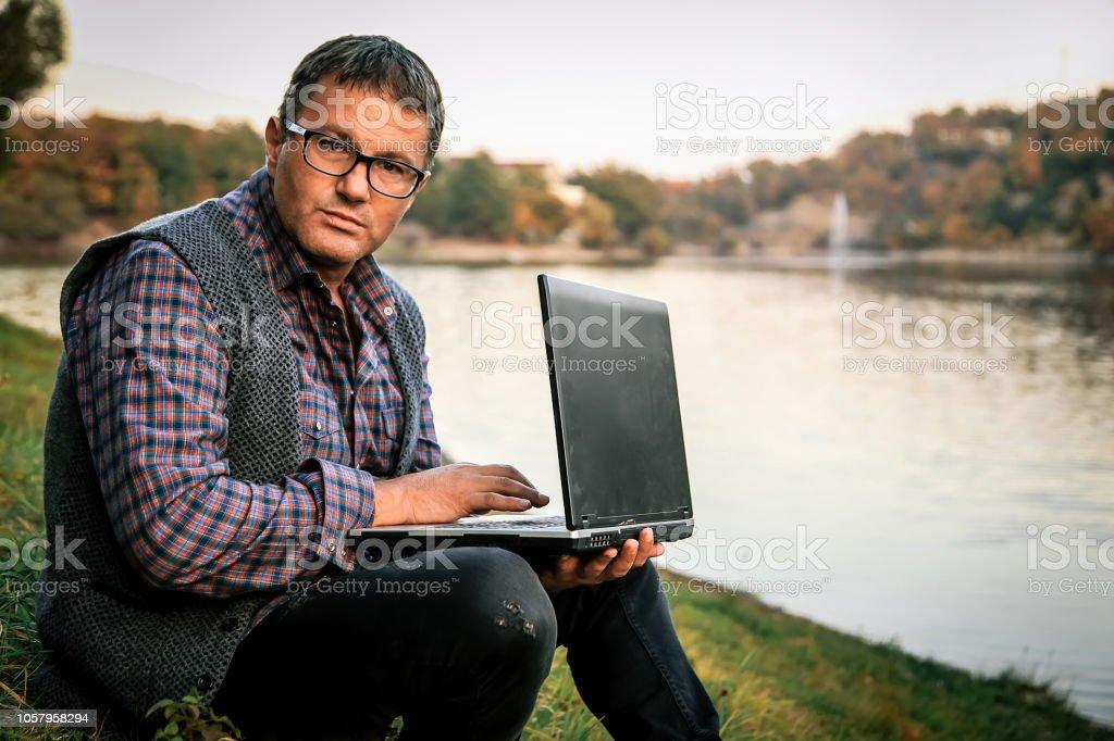 Working, Businessman, Desk, Serbia, Laptop, Millenial, Computer,...