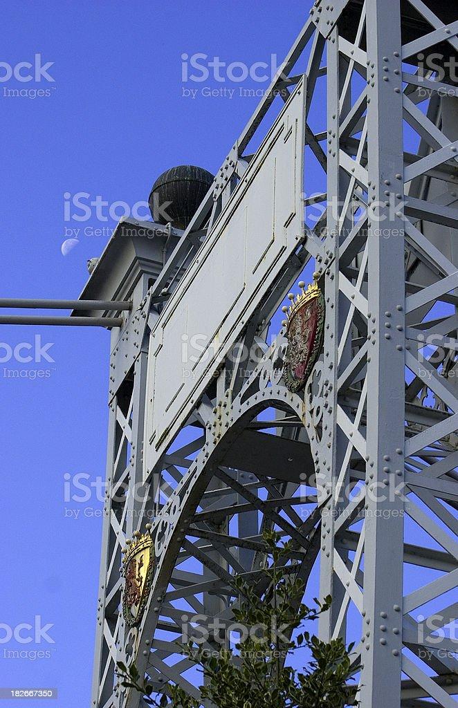 Millenium bridge royalty-free stock photo