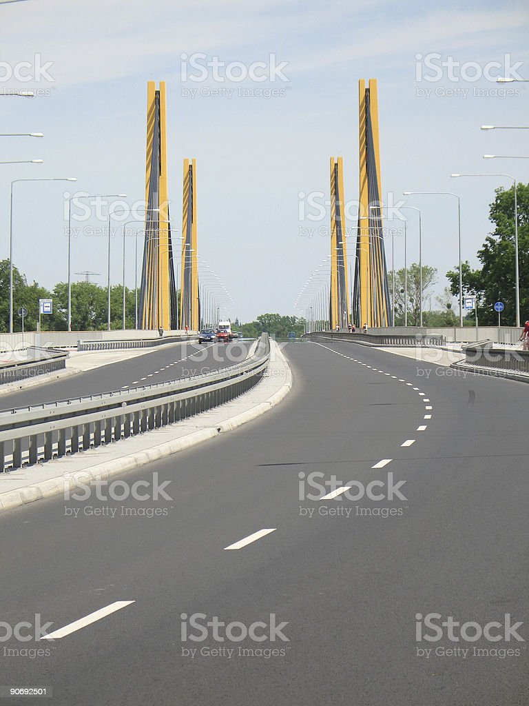 Millenium bridge5 royalty-free stock photo