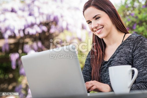 istock Millennial Female Working from Home 674752866