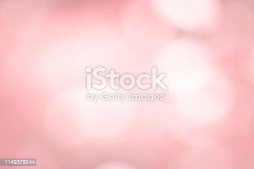 istock Millennial pink bokeh light 1149378244