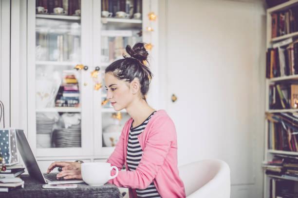 Millennial pink stock photo