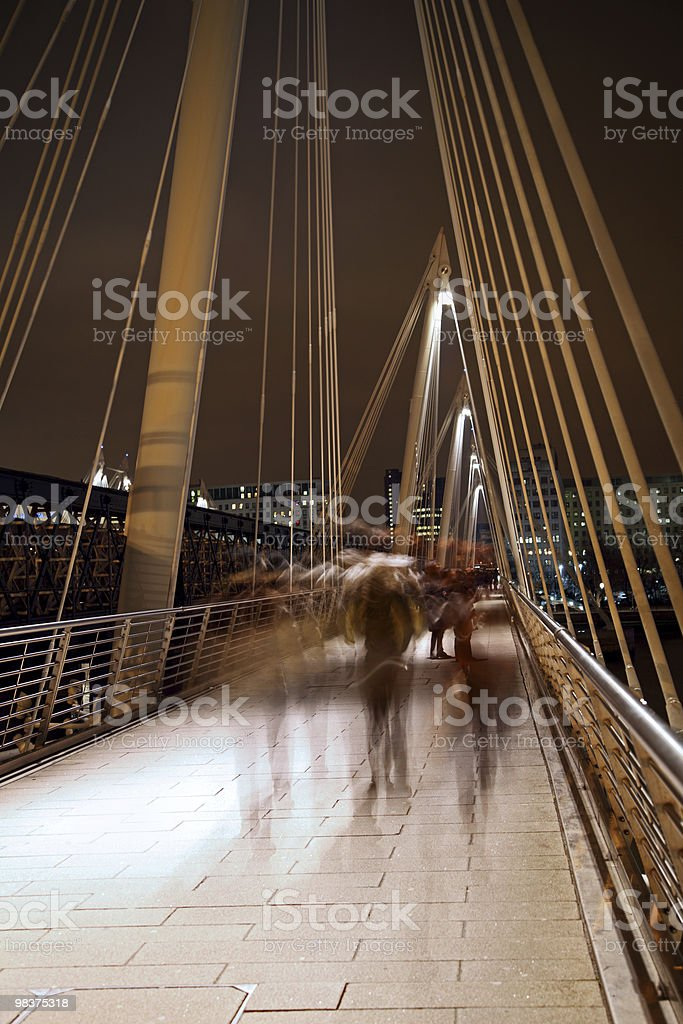 Millennium Bridge foto stock royalty-free