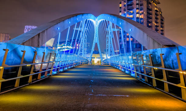 Millennium Bridge Salford Quays – Foto
