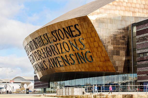 Millennium Centre - Wales stock photo