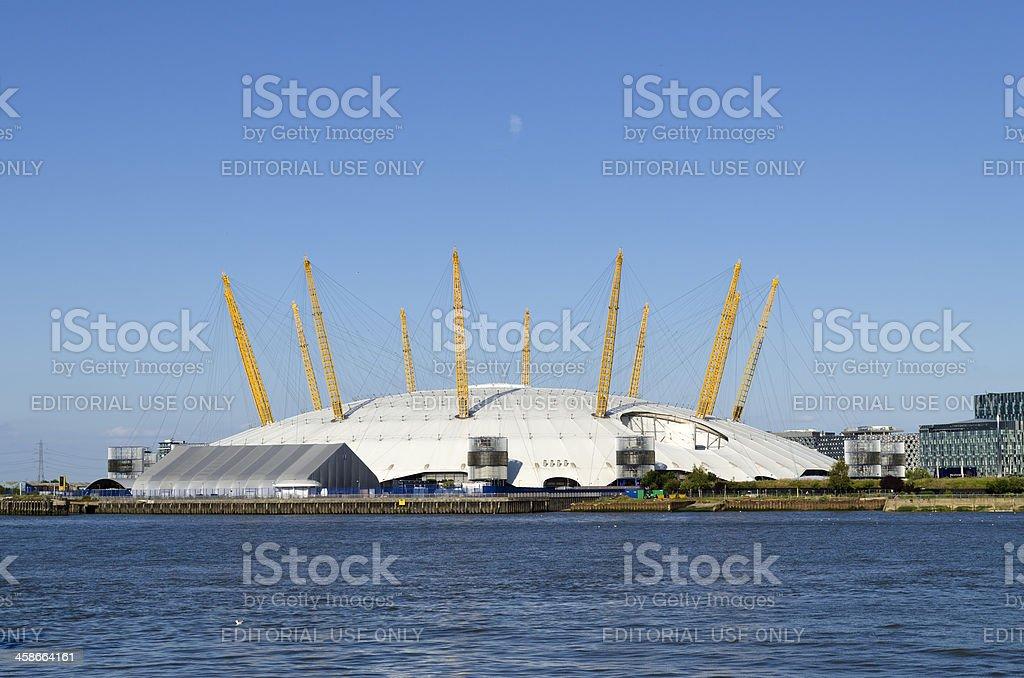 Millennium Dome, Greenwich Peninsula, London stock photo