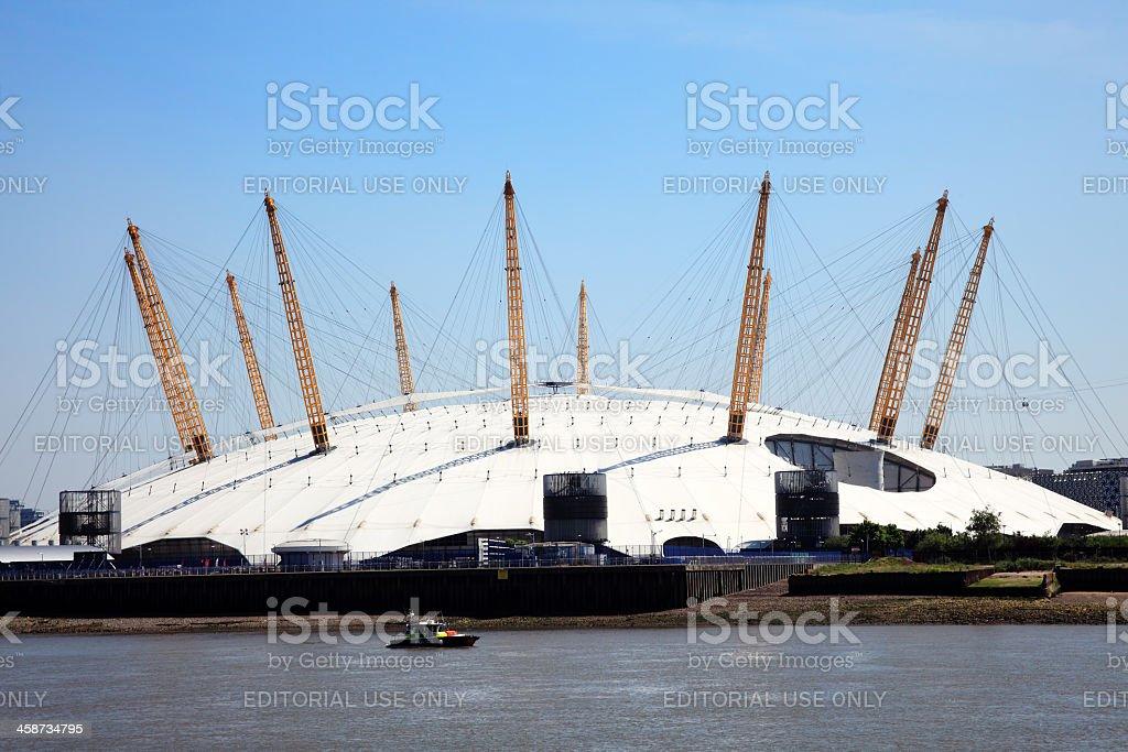 Millennium Dome stock photo