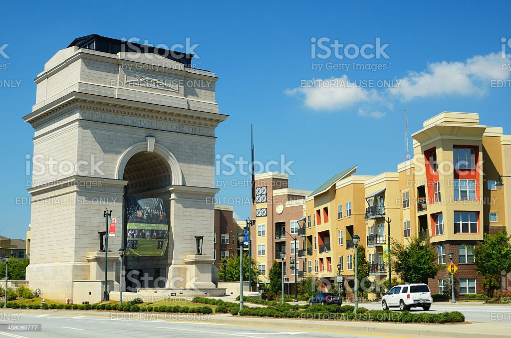 Millennium Gate stock photo