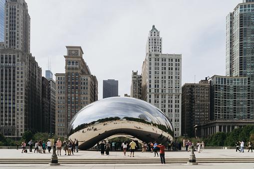 Millennium Park in Chicago, Illinois.