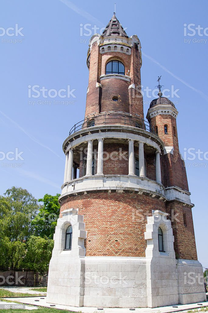 Millennium Tower  in Zemun, Belgrade, Serbia stock photo
