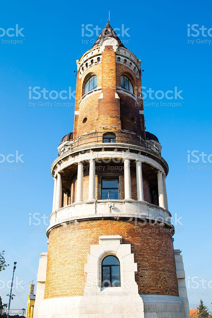 Millennium Tower on Gardos hill  in Zemun, Belgrade stock photo