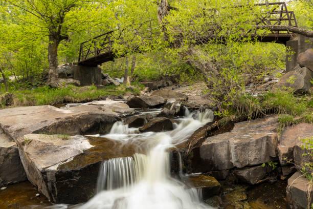 Miller Creek Falls stock photo