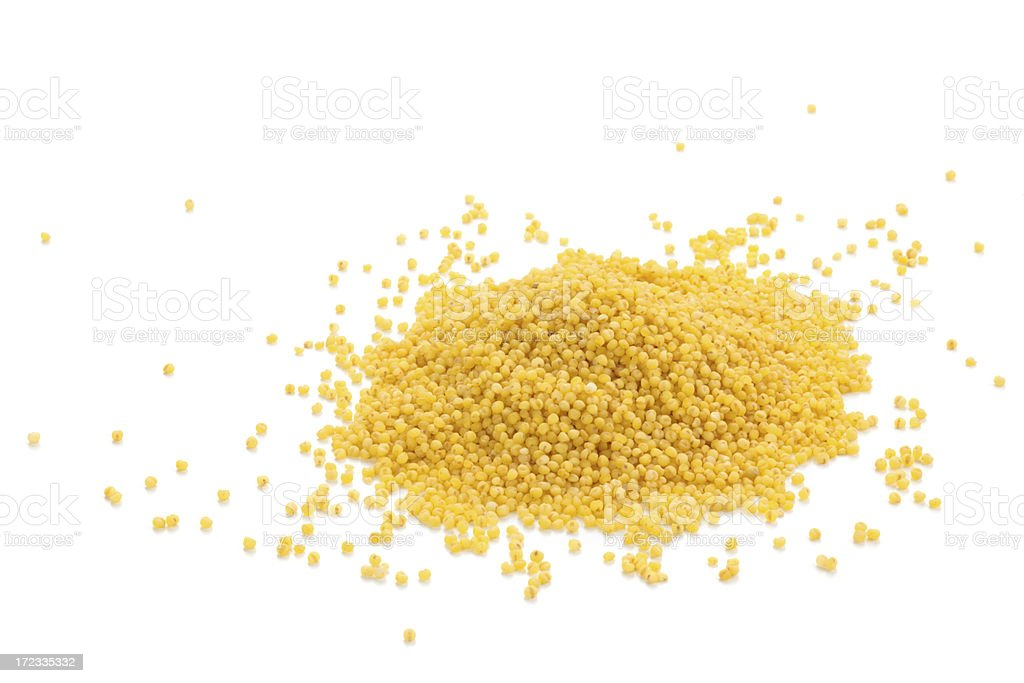 Millet. royalty-free stock photo