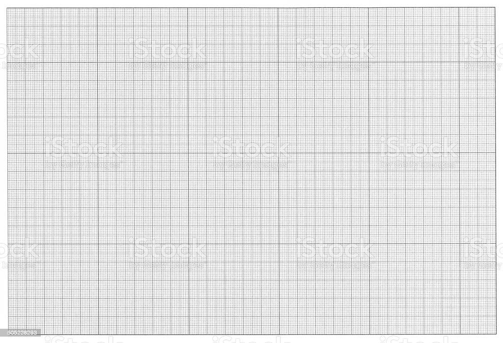 Millimeter Paper, Graph Paper. stock photo
