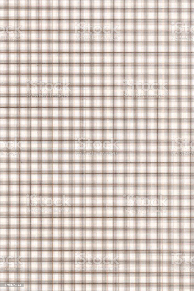 XXXL Millimeter paper royalty-free stock photo