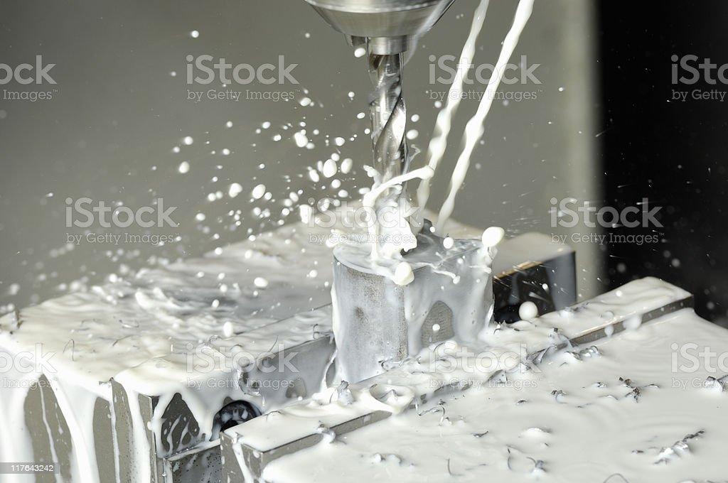 CNC Milling machine stock photo